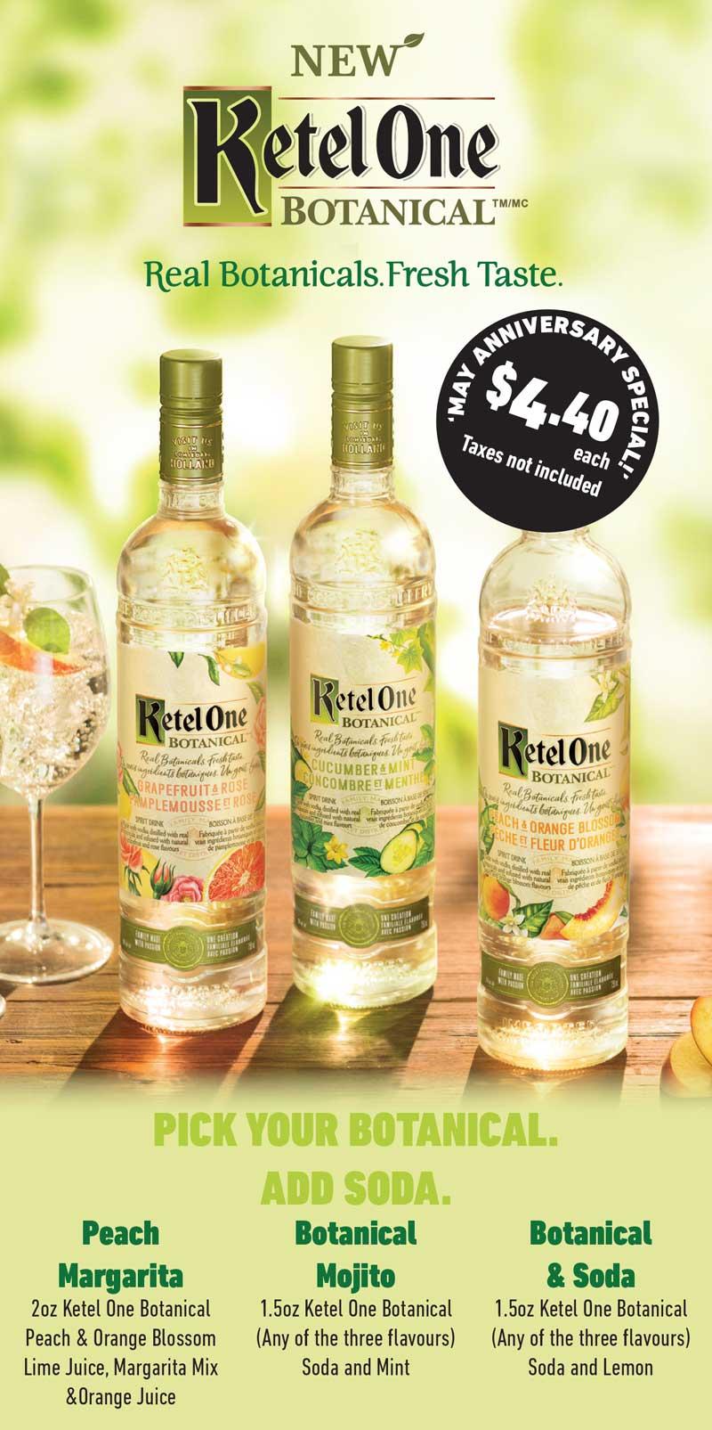 KetelOne Botanical May Special