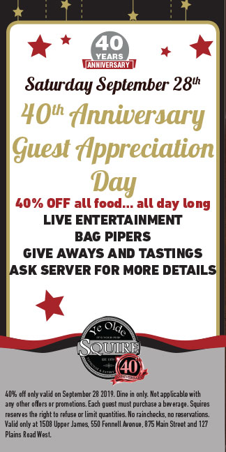 40th Anniversary Guest Appreciation Day